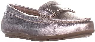 Calvin Klein Women's Lisette Loafer Flat, Soft Platinum, 6.5 M