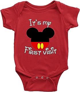 It's My First Visit Baby Bodysuit Romper Onesie