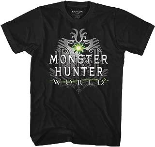 Monster Hunter Men's MHW Logo T-Shirt Black