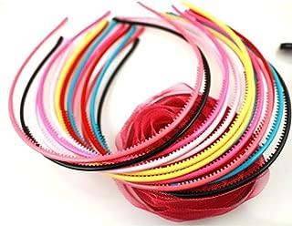 YOYOSTORE 10x Mix Color Super Thin Band Headband Hair Hairband HAT -Randomly Color (4mm)