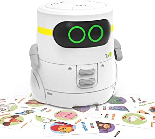 REMOKING STEM Educational Robot Toy,Dance,Sing, Guess Card Game, Speak Like You, Touch Control,Recorder,Interactive Kids L...