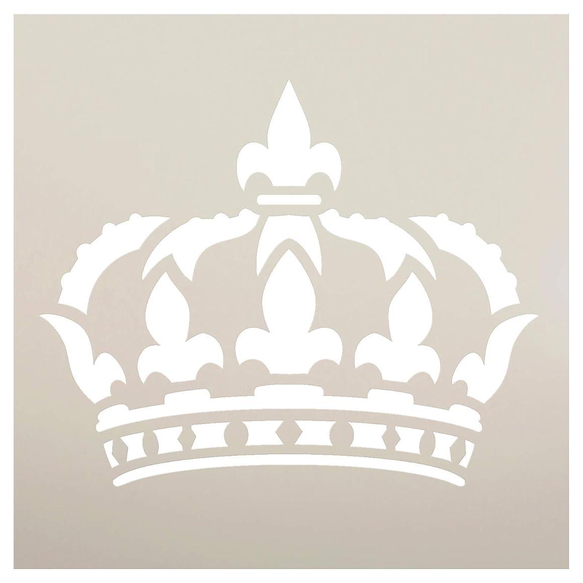 Queens Crown - Art Stencil - STCL1126 by StudioR12 … (9