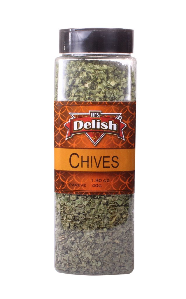 Dried Chives by Bargain Long Beach Mall It's Delish – Jar Oz. Hea Premium Large 4