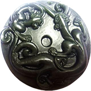 Natural Green Jade pi yao Pendant Amulet Mascot