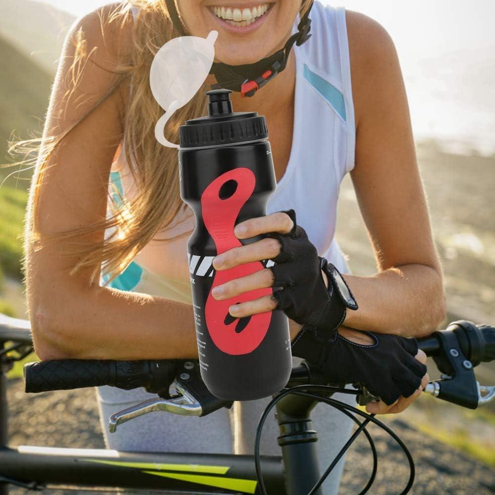 Hebrew Portabid/ón el/ástico de Polietileno para Bicicleta Bicicleta de monta/ña, Botella de Agua Profesional de Alta fiabilidad para Bicicleta de monta/ña Accesorio de Ciclismo para Ciclista