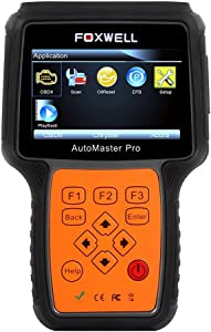 FOXWELL NT624 Diagnostic Code Reader All-Makes All-Systems Professional Car Scanner Check Engine  ABS  Airbag  Transmisson  EPB  Oil Service Vehicle Diagnostic Tool
