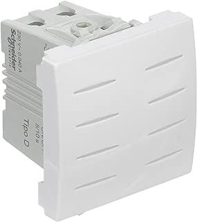 80 A W = 12 M/ódulos Schneider Electric 21501 Juego de Barras Clario 1P+N