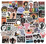Black Lives Matter Stickers, 50PCS Black Rights Stickers African Americans Laptop Stickers ACLU Women Rights Water Bottles Stickers for car Waterproof Computer Stickers (Black Rights & Women Rights)