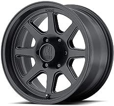 XD SERIES BY KMC WHEELS XD301 TURBINE BLACK Wheel Chromium (hexavalent compounds) (16 x 8. inches /6 x 108 mm, 0 mm Offset)