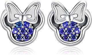 I nuovi orecchini selvaggi, semplici e raffinati, fiocco piccolo, micro zirconi intarsiati, orecchini vendita diretta
