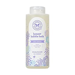 Honest Calming Lavender Hypoallergenic Bubble Bath with Naturally Derived Botanicals, Dreamy Lavende