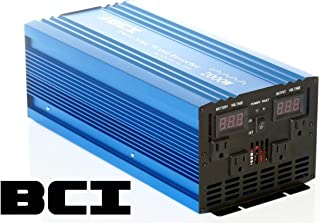 BCI 2000 Watt Pure Sine Wave Inverter / 12VDC to 110VAC