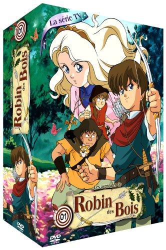 Les Aventures de Robin des Bois-Partie 1-Coffret 4 DVD-La Série