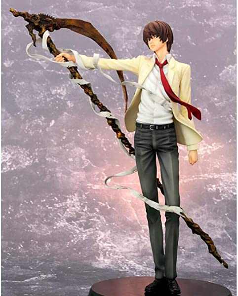 ZDNALS Death Note Anime Statue Yagami Light Anime Model Decoration 26CM Statue