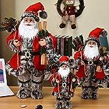 Noel Figura 30/45 / 60cm de Navidad Grande de Santa Claus muñecas Adornos Permanente de...