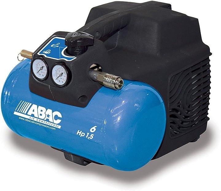 Compressore d`aria 6 litri hp 1 5 cl1 start 015 abac 4116023458