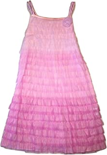 Biscotti Kate Mack Girls Layered Strapless Tulle Dress in Pink