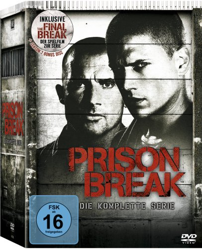 Produktbild von Prison Break - Die komplette Serie (inkl. The Final Break) [24 DVDs]