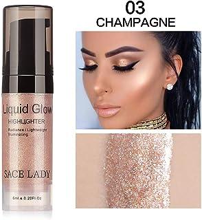 Clearance Sale!UMFun💗💗 Liquid Glow Highlighter Lip Foundation Makeup Shimmer Cream Facial Bronzer...