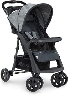 GOPLUS Multi Kinderwagen Buggy Verstellbar mit vier R/ädern Liegeposition Grau Zusammen klappbarer Babywagen Sportwagen mit Babyschale//Sonnenverdeck//Tischplatte//Wickeltasche//Getr/änkehalter