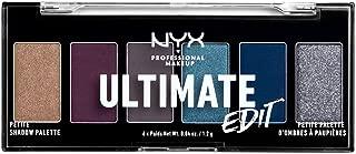 NYX PROFESSIONAL MAKEUP Ultimate Edit Petite Shadow Palette, Ash, 0.04 Ounce
