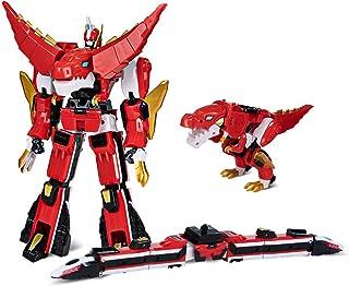 おもちゃ 変形 ロボット XINQI TOYS 暴竜戦車4 豪華版 飞火列车 烈焰霸王龙 合体飞火霸王 (合体 飞火霸王)
