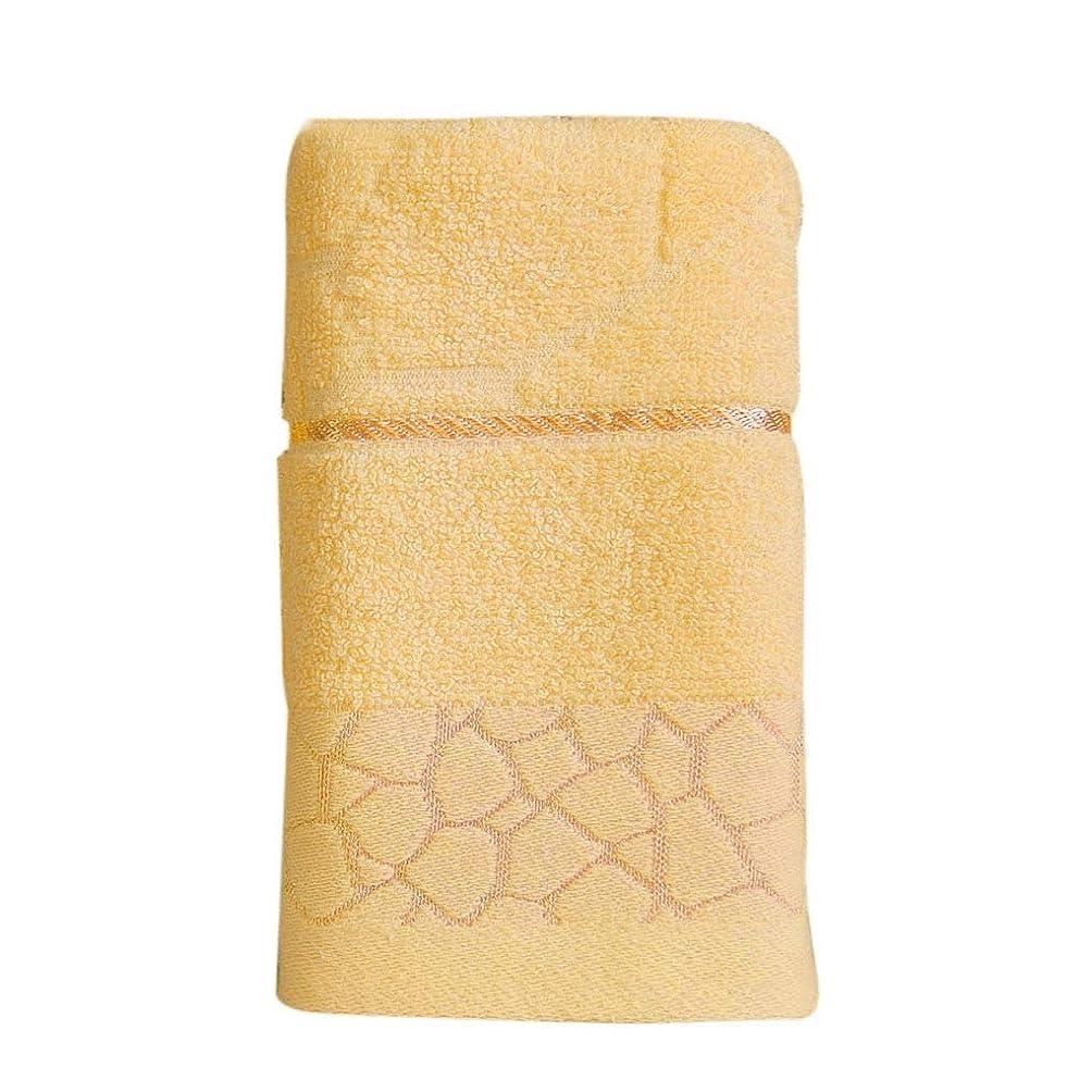 成分ひそかに寛容Maxcrestas - ウォーターキューブパターンピュアコットンタオルビーチバース吸収乾燥布