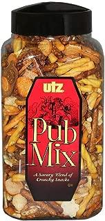 Utz Pub Mix, 44 oz Barrel (Pack of 6)
