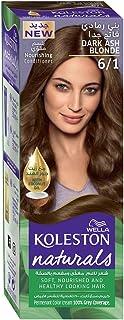 Wella Koleston Naturals Hair Color Semi-Kit Dark Ash Blonde 6/1