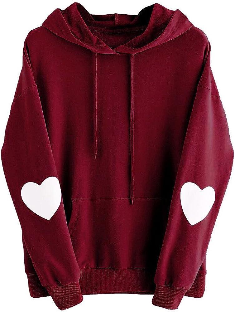 Cute Hoodies for Women, Womens Long Sleeve Cute Graphic Hoodie and Sweatshirt Casual Loose Pullover Tops Sweaters