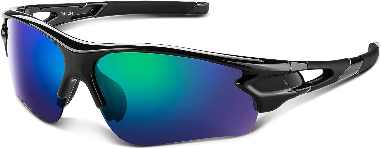 Max 88% OFF Polarized Award-winning store Sports Sunglasses for Men Youth Women Baseball Fishing