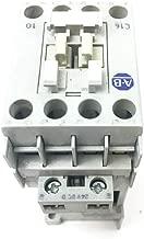 Allen Bradley 100-C16D10 B, 100-C16D10 SER.B, Standard Contactors Motor Control, Contactor,16 A,110V 50 Hz / 120V 60 Hz,AC,3 Normally Open Poles,1 NO Contacts & 0 NC Contacts,Single Pack,Line Side