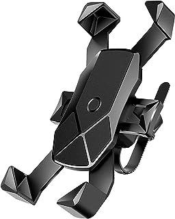 自転車 スマホ ホルダー ワンタッチ固定式ロードバイク スマホホルダー-DODOLIVE 360度回転自転車 携帯 ホルダー GPSナビ 落下防止 強力固定 iPhone X XS 8 7 6 6S Plus Samsung Sony LG H...