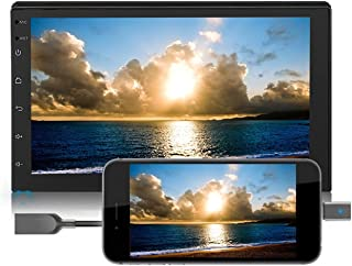 Android 8.1 autoradio 2 Din 7 inch touchscreen GPS-navigatie met Bluetooth 1G RAM + 16G ROM, ondersteuning voor WiFi Bluet...