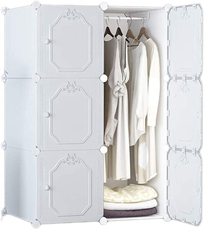 Wardrobe Multi-Layer Locker Simple Storage Assembly Max 60% OFF Plas Superlatite Cabinet