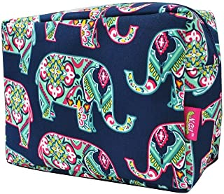 N. Gil Large Travel Cosmetic Pouch Bag