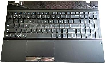 GAOCHENG Laptop PalmRest&Keyboard for Samsung NP300V5A NP305V5A 300V5A 305V5A English US BA75-03214A Touchpad Black Touchpad