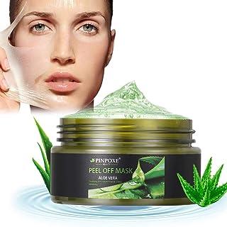 Mitesser Maske, Blackhead Remover Maske, Peel Off Mask, Aloe Vera Gesichtsmaske, Anti Aging Mask, Acne Mitesser Maske, 100g