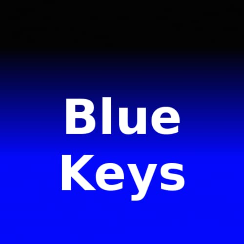 Blue Keys for Better Keyboard