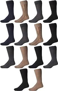 Men's Dress Socks (14 Pack)