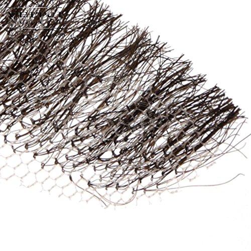 『Neitsi(ネイティス) 付け髭 ひげ 口髭 人毛 ウィッグ 髪製髭 手作り本物 コスプレ用ダンス用髭 1枚』の6枚目の画像