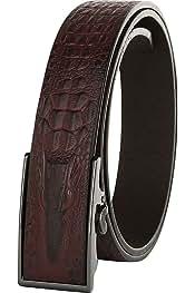 Go get it now Automatic Buckle Brown Belt Men Belts Genuine Leather Belt For Men B10