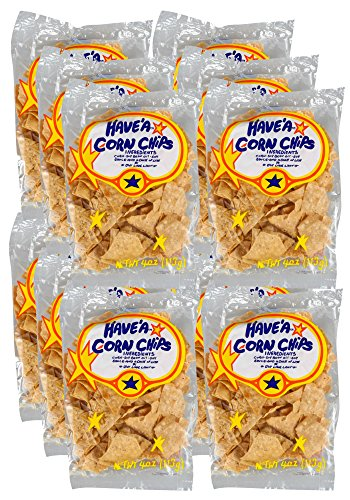 Have'a Corn Chips, Regular Flavor, 4-Ounce Bag (Pack of 12)