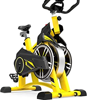 Home Spinning Bike, Ultra-Quiet Exercise Bike, Indoor Pedal Sports Bike, Weight Loss Fitness Equipment, Adjustable Handle ...