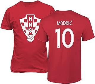Croatia 2018 National Soccer #10 Luka MODRIC World Championship Men's T-Shirt