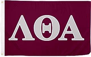 Desert Cactus Lambda Theta Alpha Letter Sorority Flag Greek Letter Use as a Banner Large 3 x 5 Feet Sign Decor