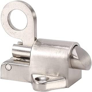 Bloqueo de seguridad Aleación de zinc de bloqueo automático del pestillo Tire del resorte de la puerta de rebote perno para la seguridad de la puerta de la casa