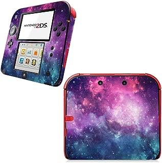SKINOWN Vinyl Cover Decals Skin Sticker for Nintendo 2DS Console - Galaxy Nebular