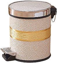 AINIYF Step-On Lid Trash Can Wastebasket, Garbage Container Bin for Bathroom, Powder Room, Bedroom, Kitchen, Craft Room, O...
