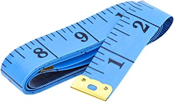 3 Pack Measuring Tape Body Tailor 60 Inch// 150 cm Tape Measure for Body Double Scale Measurement Tape for Sewing